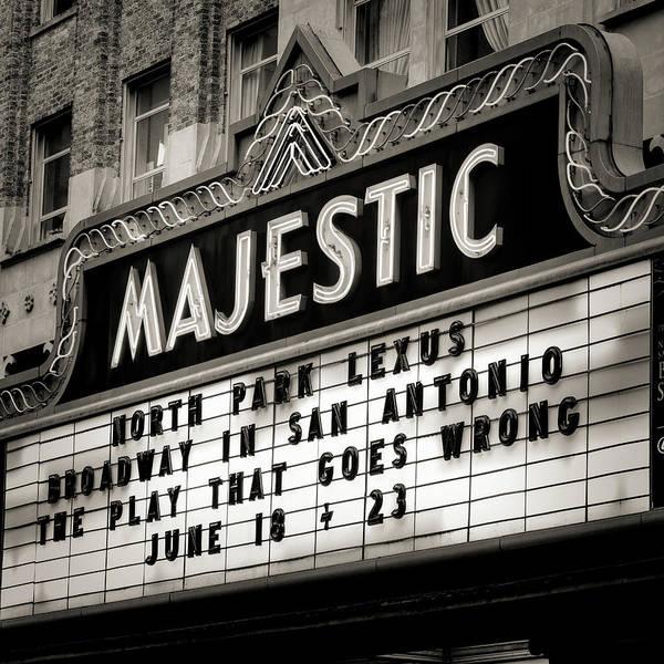 Wall Art - Photograph - San Antonio Majestic Theatre #4 by Stephen Stookey