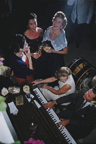 Photograph - San Antonio Party by Slim Aarons