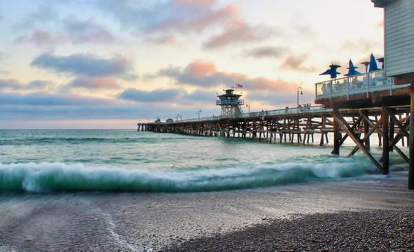 Photograph - A San Clemente Pier Evening by Brian Eberly