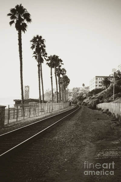 Wall Art - Photograph - San Clemente Train Tracks by Ana V Ramirez