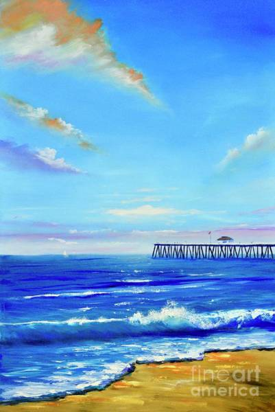 Painting - San Clemente Utopia by Mary Scott