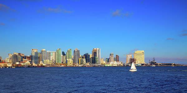 Photograph - San Diego Skyline by David Patterson