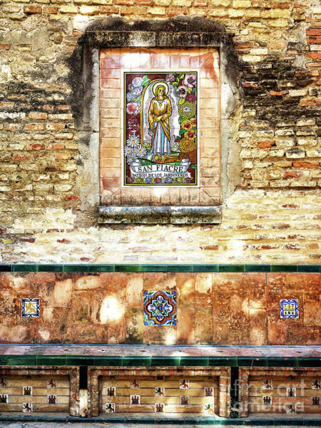 Photograph - San Fiacre At The Alcazar Of Seville by John Rizzuto