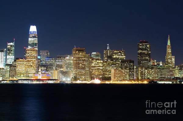 Wall Art - Photograph - San Francisco 2018 City Skyline by Jennifer Ramirez