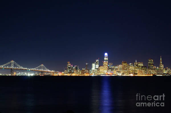 Wall Art - Photograph - San Francisco 2018 City Skyline With Bay Bridge by Jennifer Ramirez