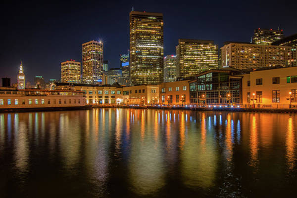 Photograph - San Francisco At Night by Kristen Wilkinson