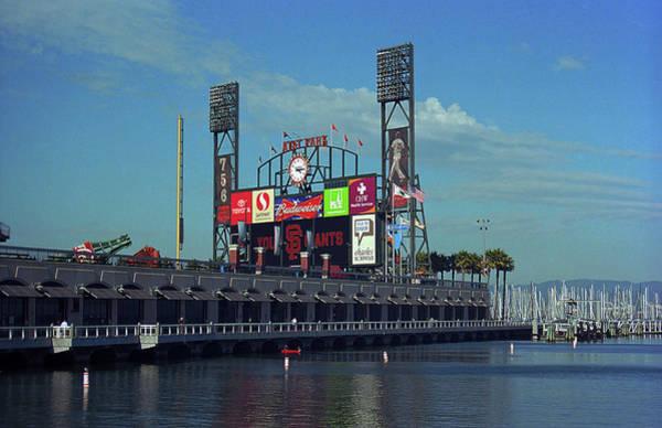 Photograph - San Francisco Bay And Ballpark 2007 by Frank Romeo
