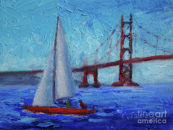 Photograph - San Francisco Bay Breeze by Carolyn Jarvis