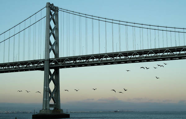 Wall Art - Photograph - San Francisco Bay Bridge by Ra-photos