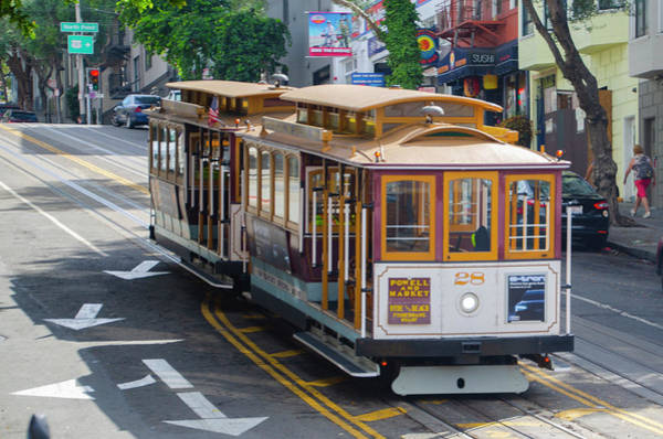 Wall Art - Photograph - San Francisco Cable Car by Bill Cannon