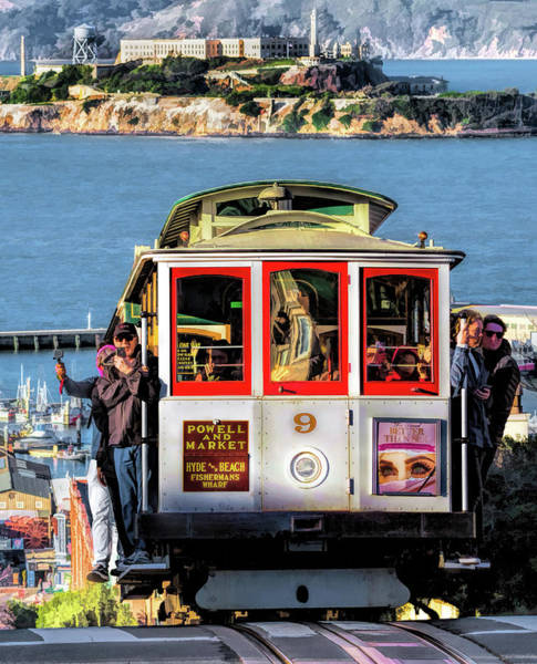 Painting - San Francisco Cable Car by Christopher Arndt