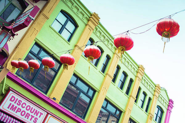 Chinese New Year Photograph - San Francisco Chinatown Colors by Sonja Quintero