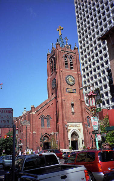 Photograph - San Francisco Church 2007 by Frank Romeo