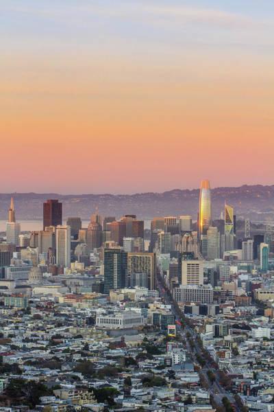 Wall Art - Photograph - San Francisco Dusk by Jake Scheinberg