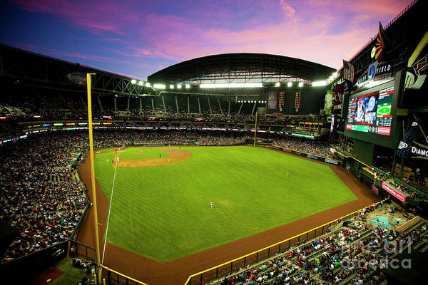 Photograph - San Francisco Giants V Arizona by Jon Willey