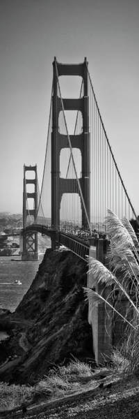 Wall Art - Photograph - San Francisco Golden Gate Bridge - Panorama by Melanie Viola
