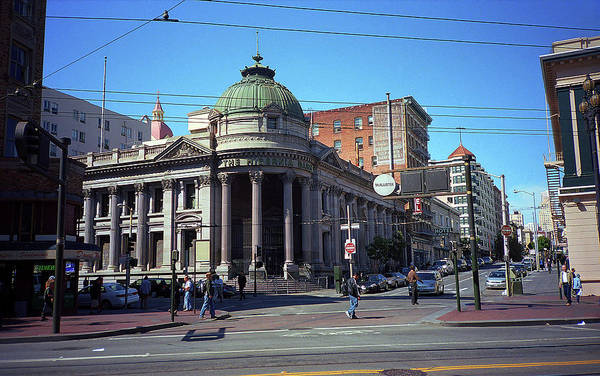 Photograph - San Francisco Intersection 2007 #2 by Frank Romeo