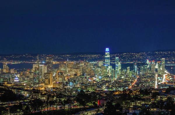 Wall Art - Photograph - San Francisco Night by Jake Scheinberg