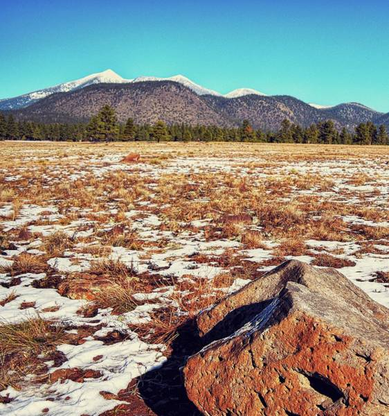 Photograph - San Francisco Peaks Winter by Chance Kafka