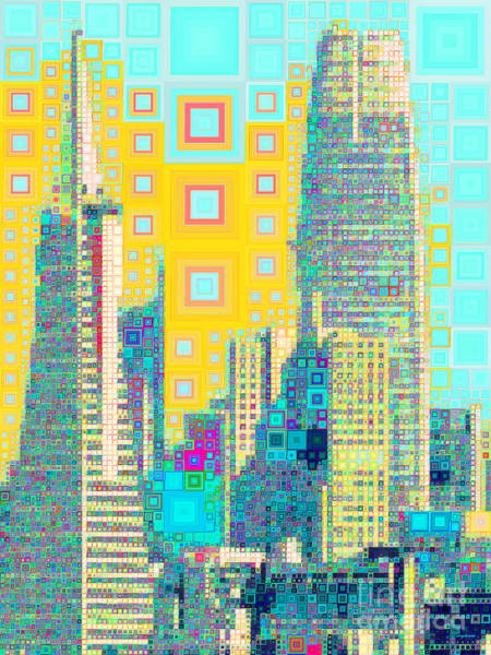 Photograph - San Francisco Salesforce Transbay Transit Center Tower And Transmerica Pyramid Skyline 20190207 by Wingsdomain Art and Photography
