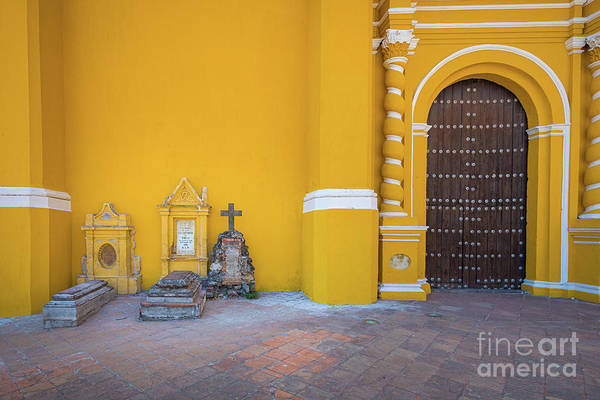 Photograph - San Gabriel Tombs by Inge Johnsson