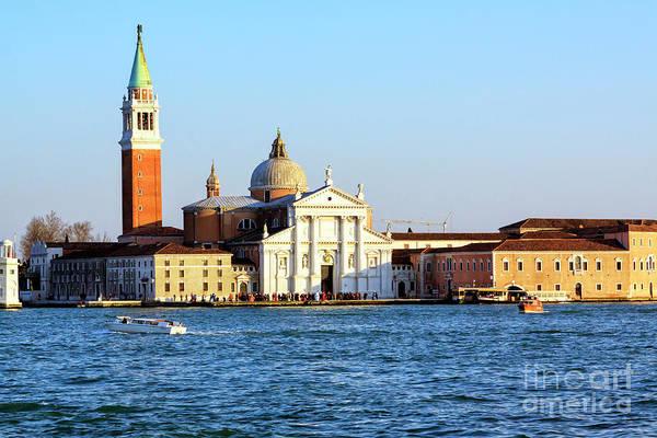 Photograph - San Giorgio Maggiore Venezia by John Rizzuto
