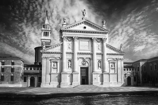 Wall Art - Photograph - San Giorgio Maggiore Venice Italy Black And White by Carol Japp