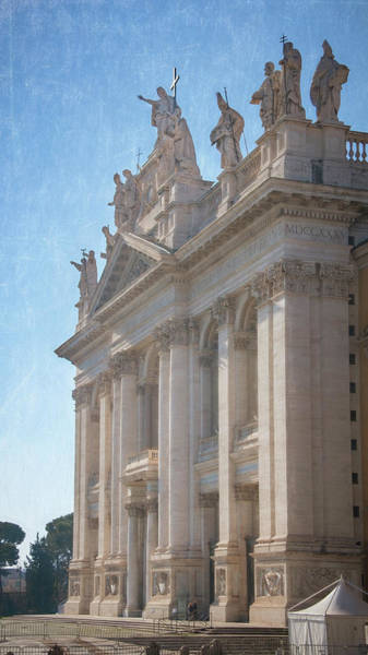 Photograph - San Giovanni In Laterano In Rome Italy  by Joan Carroll