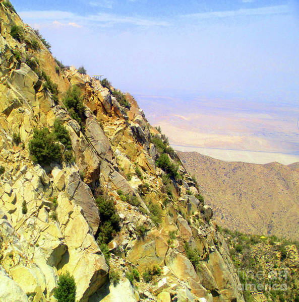 Aerial Tramway Wall Art - Photograph - San Jacinto Mountains 2 by Randall Weidner