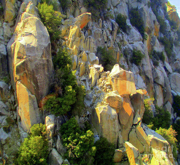 Aerial Tramway Wall Art - Photograph - San Jacinto Mountains 4 by Randall Weidner