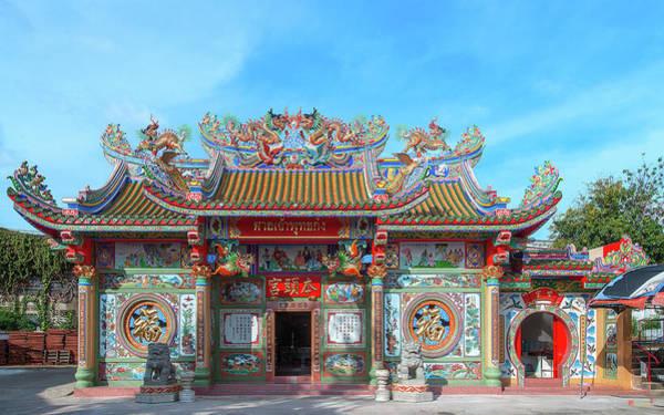 Photograph - San Jao Phut Gong Thai-chinese Shrine Dthu0822 by Gerry Gantt