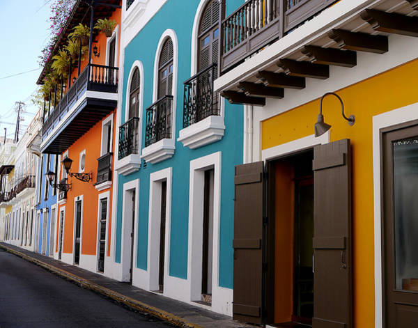 Photograph - San Juan - Colorful Calle II by Richard Reeve