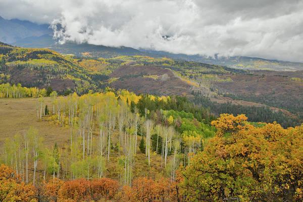 Photograph - San Juan Mountain Fall Color by Ray Mathis