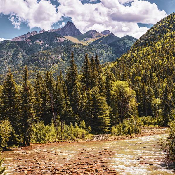 Photograph - San Juan Mountains Over The Animas River - Silverton Colorado by Gregory Ballos