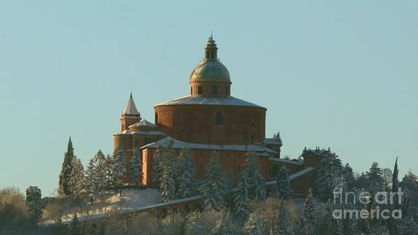 Photograph - San Luca Close Up With Snow by Benny Marty