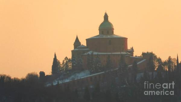 Photograph - San Luca Sunset With Snow by Benny Marty