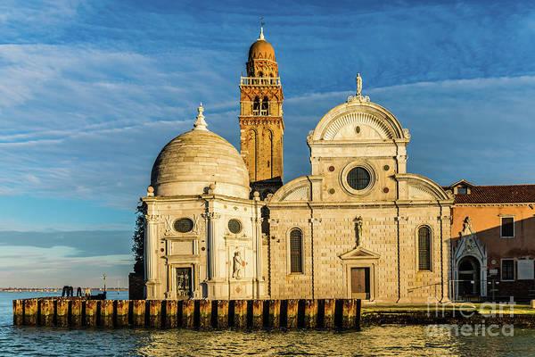 Photograph -  San Michele Island, Venezia, Italy by Lyl Dil Creations