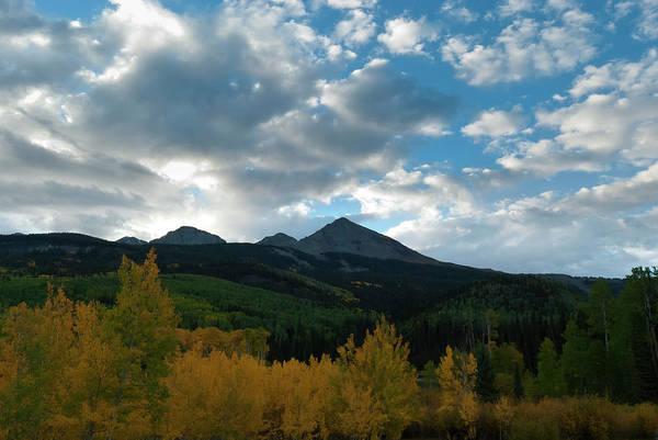 Photograph - San Miguel Autumn Landscape After Sunrise by Cascade Colors