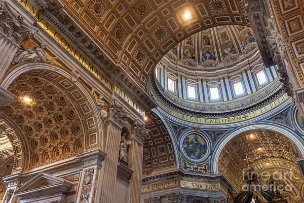 Wall Art - Photograph - San Pietro Ceiling by Brian Jannsen