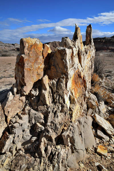 Photograph - San Rafael Swell Sand Castle by Ray Mathis
