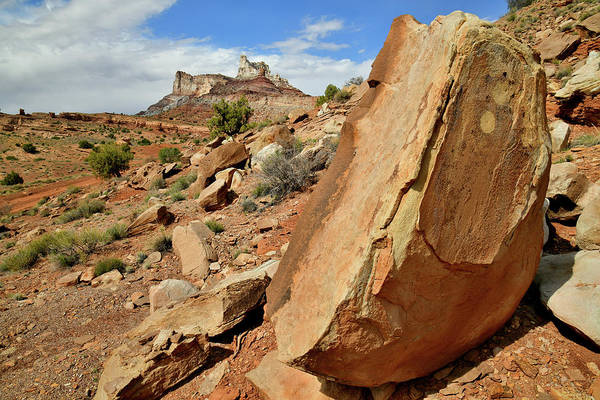 Photograph - San Rafael Swell's Temple Mountain by Ray Mathis