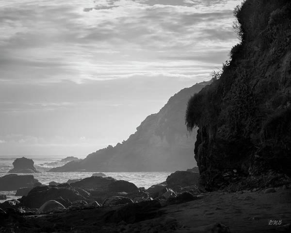 Photograph - San Simeon Coastal IIi Bw by David Gordon