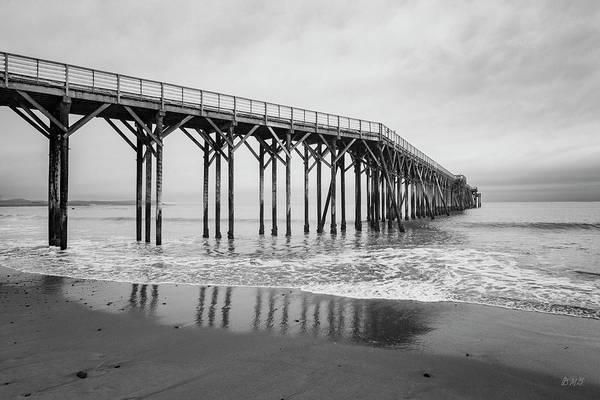 Photograph - San Simeon Pier II Bw by David Gordon