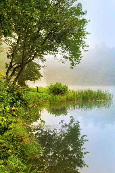 Photograph - Sanctuary By The Lake Sunrise Landscape by Christina Rollo