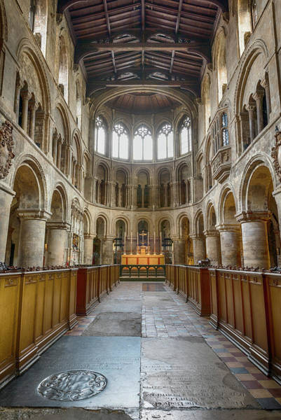 Wall Art - Photograph - Sanctuary - Church Of St Bartholomew The Great by Stephen Stookey