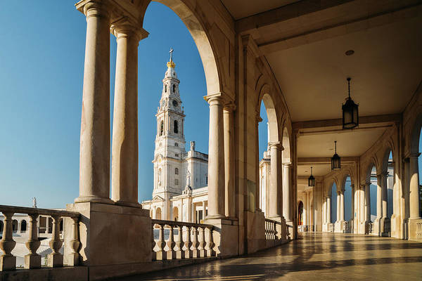 Photograph - Sanctuary Of Fatima, Portugal by Alexandre Rotenberg