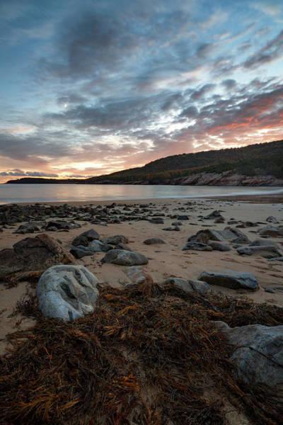 Photograph - Sand Beach Under The Moon by Darylann Leonard Photography