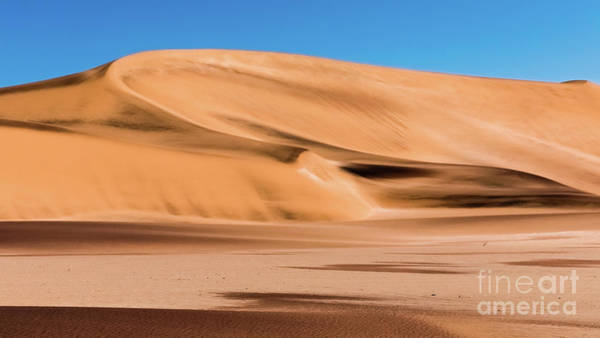 Photograph - Sand Dune In The Namib Desert by Lyl Dil Creations