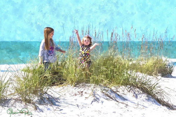 Photograph - Sand Dune Sisters 1 by Susan Molnar