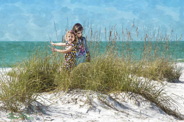 Photograph - Sand Dune Sisters 2 by Susan Molnar